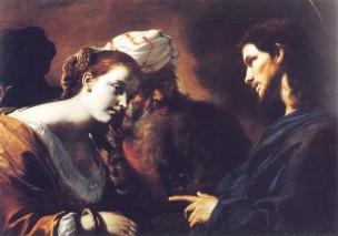 Preti Cristo e adultera Palazzo Abatellis Palerme