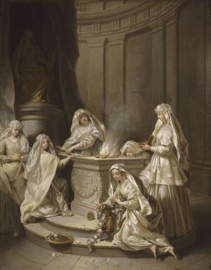 Raoux 1727 Vierges-antiques Palais des BA Lille