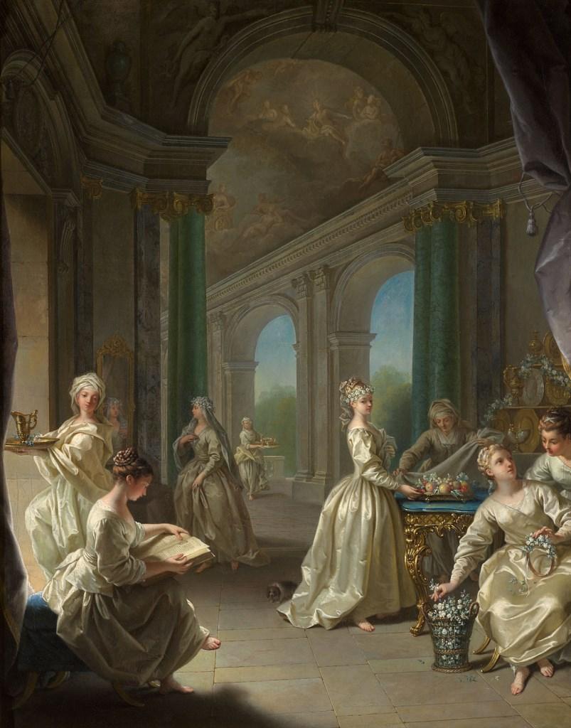 Raoux 1727 Vierges-modernes Palais des BA Lille
