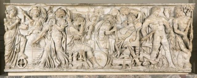 Sarcophage de Meleagre Musee du Louvre, Paris