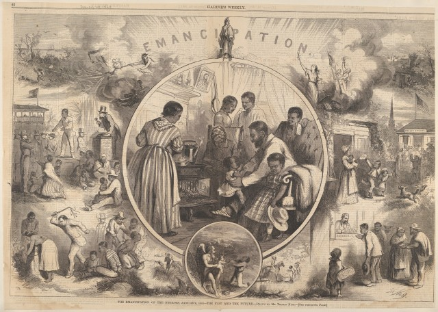 Thomas-Nast-Emancipation-The-past-and-the-future-Harpers-Weekly-January-24-1863