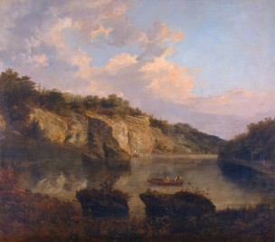 Turner 1797 Vue de Plumpton Rocks Harewood A