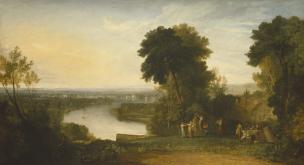 Turner 1809 thomson aeolian harp Manchester Art Gallery