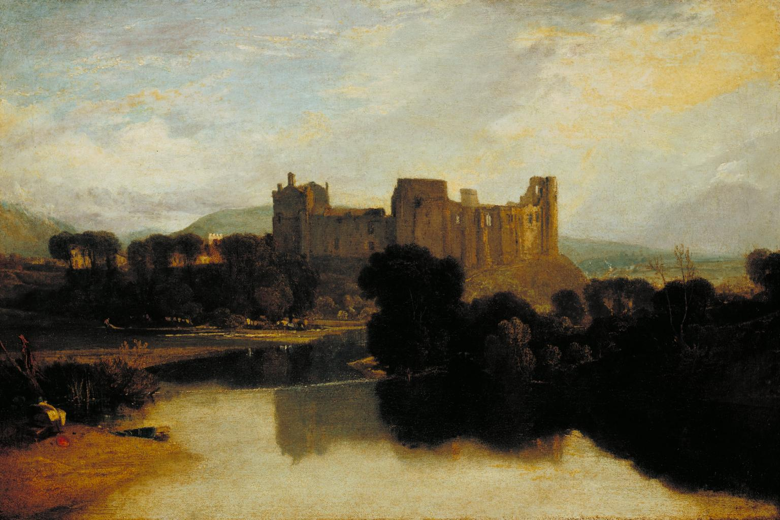 Cockermouth Castle exhibited 1810 by Joseph Mallord William Turner 1775-1851
