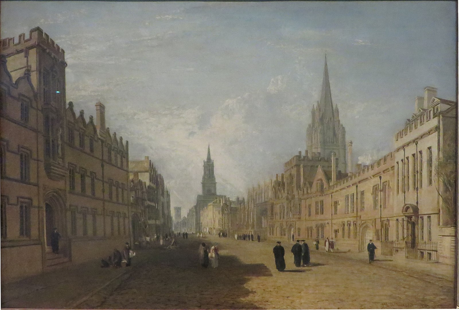Turner 1810 High_Street,_Oxford Ashmolean Museum, Oxford
