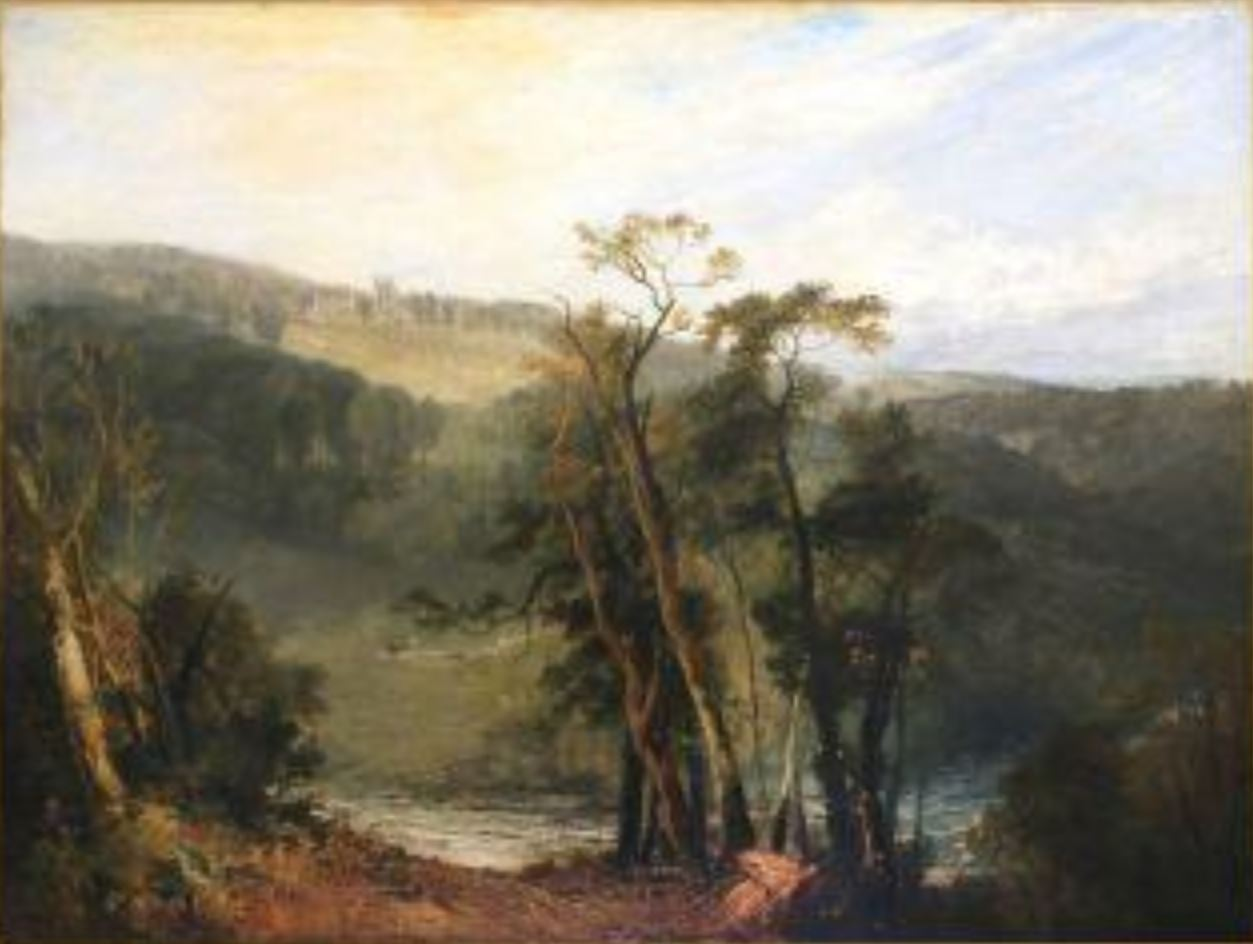 Turner 1810 Lowther Castle, Lowther Castle