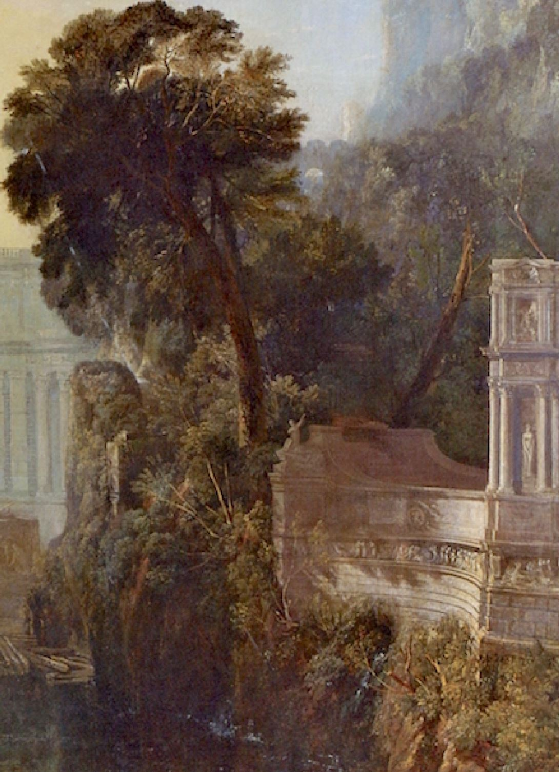 Turner 1815 Dido_Building_Carthage National Gallery detail 3