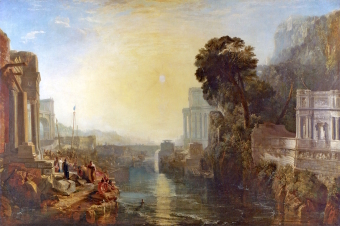 Turner 1815 Dido_Building_Carthage National Gallery