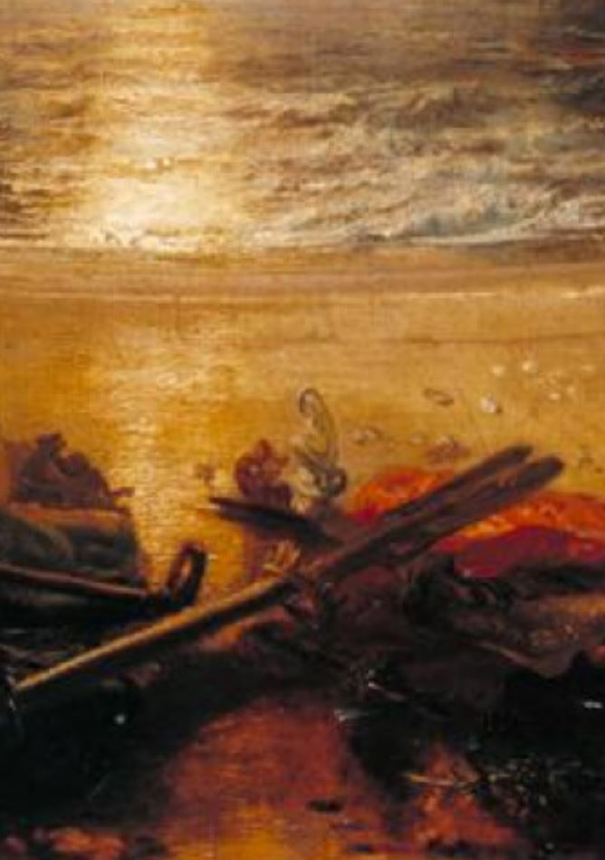 Turner 1817 Le declin de l'Empire carthaginois Tate Gallery detail