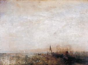 Shipping c.1825-30? by Joseph Mallord William Turner 1775-1851