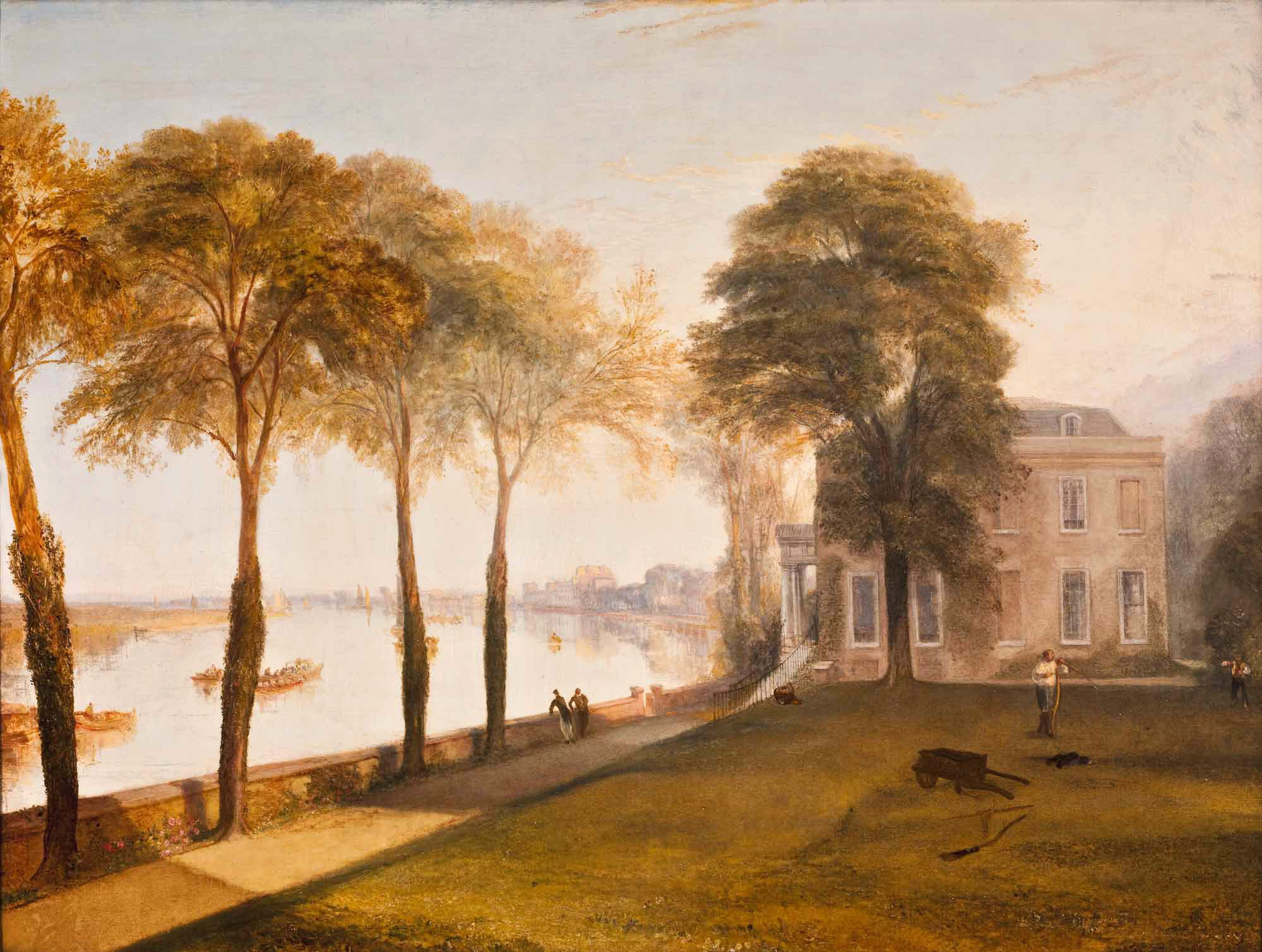 Turner 1826 Mortlake Terrace Early Summer Morning Frick Collection New York