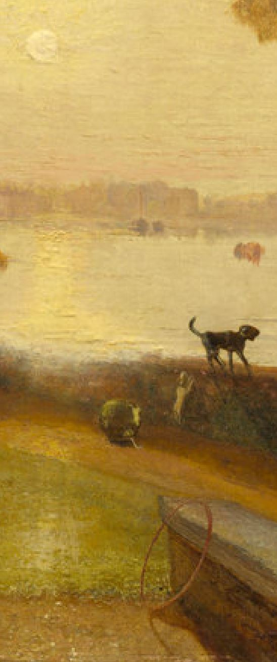 Turner 1826 Mortlake Terrace NGA Washington detail