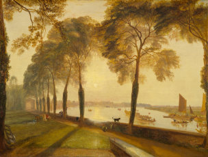 Turner 1826 Mortlake Terrace NGA Washington