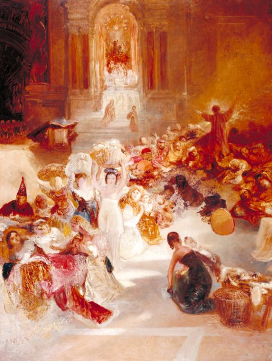 Christ Driving the Traders from the Temple c.1832 by Joseph Mallord William Turner 1775-1851