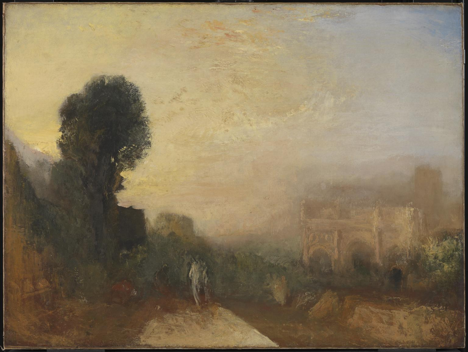 The Arch of Constantine, Rome c.1835 by Joseph Mallord William Turner 1775-1851
