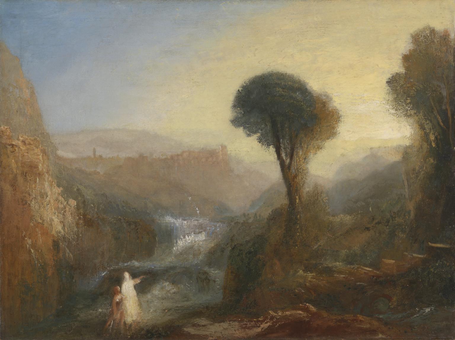 Tivoli: Tobias and the Angel c.1835 by Joseph Mallord William Turner 1775-1851