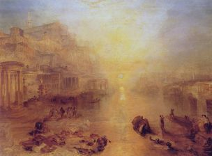 Turner 1838 A Ancient Italy – Ovid banished from Rome Coll priv