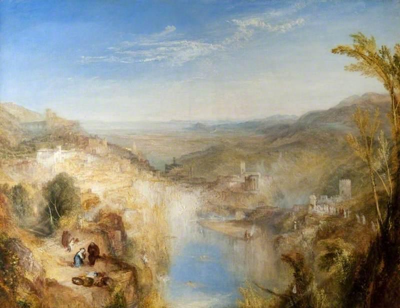 Turner, Joseph Mallord William, 1775-1851; Modern Italy: The Pifferari