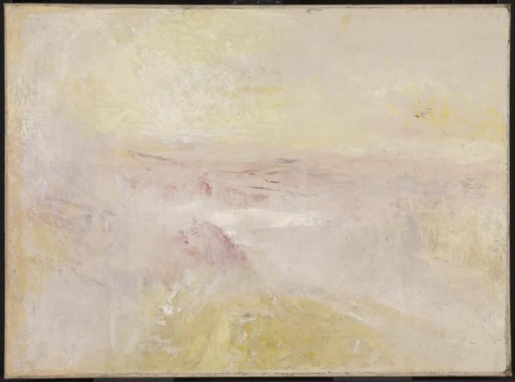 Sunset From the Top of the Rigi c.1844 by Joseph Mallord William Turner 1775-1851
