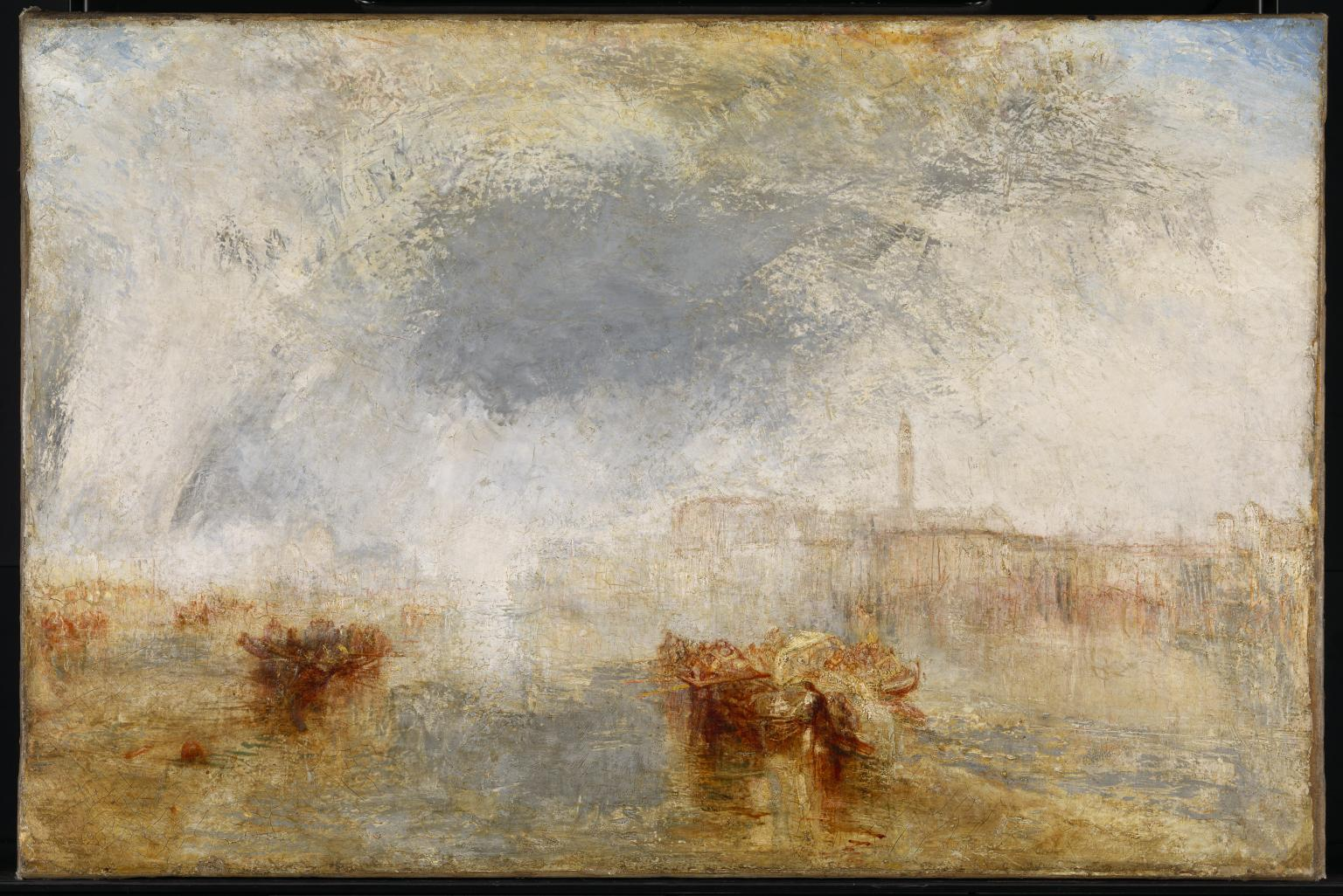 Venice - Noon exhibited 1845 by Joseph Mallord William Turner 1775-1851