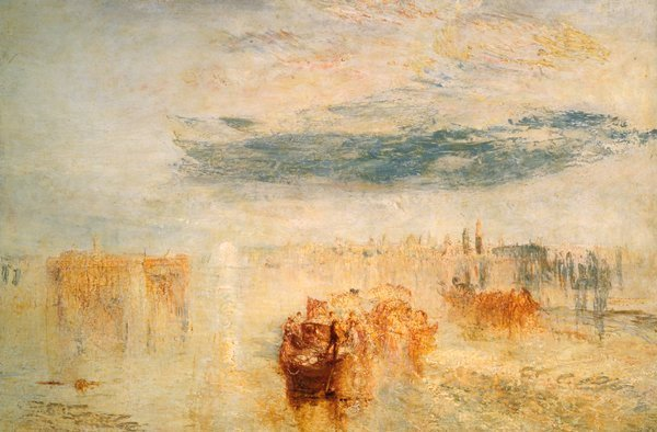 Turner 1845 B1 venice-evening-going-to-the-ball Coll priv