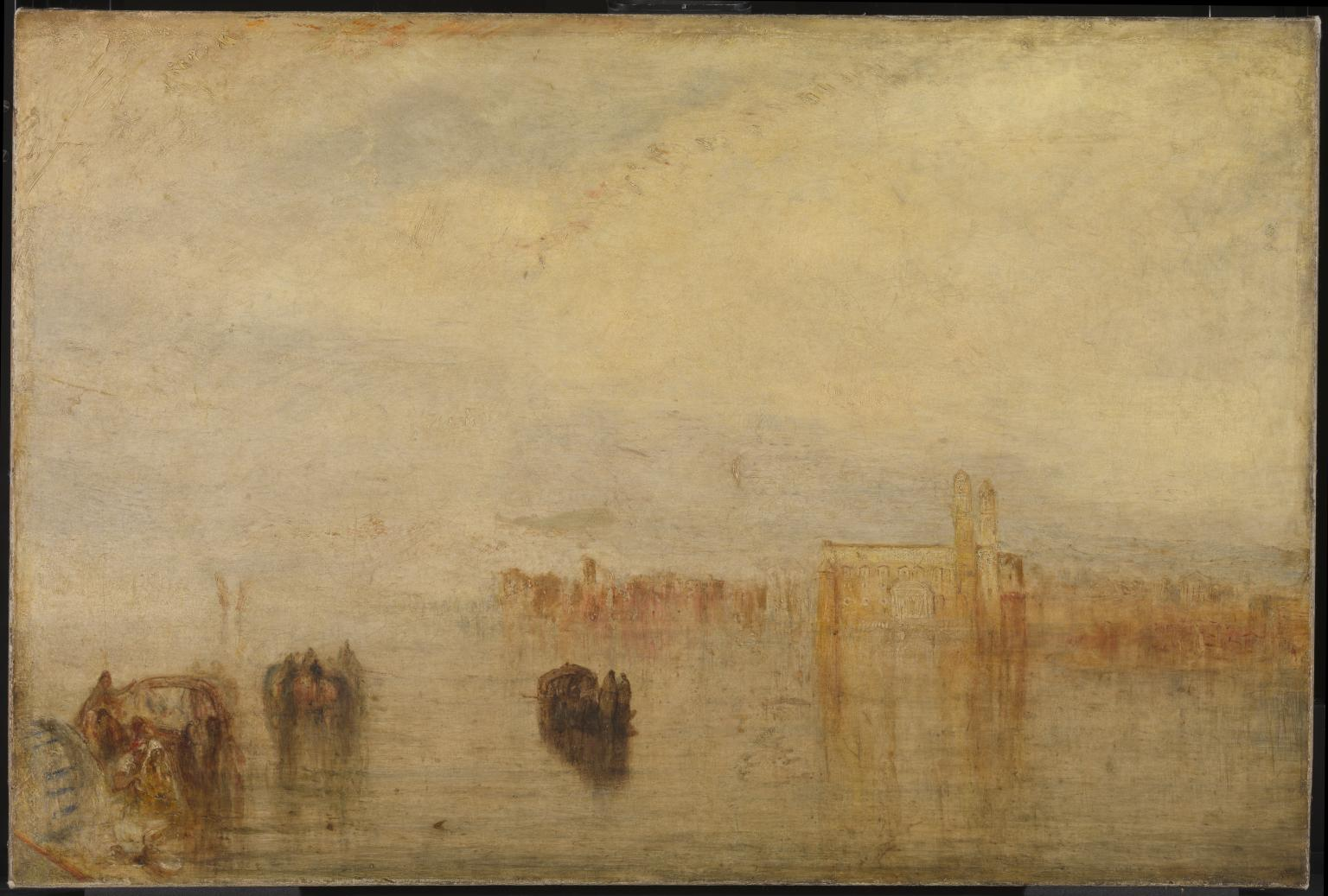 Returning from the Ball (St Martha) exhibited 1846 by Joseph Mallord William Turner 1775-1851