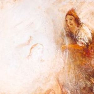 Turner 1846 Undine Giving the Ring to Massaniello, Fisherman of Naples Tate Gallery detail