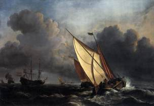 Willem_van_de_Velde_the_Younger,_Ships_on_a_Stormy_Sea_(c._1672) Toledo Museum of Arts