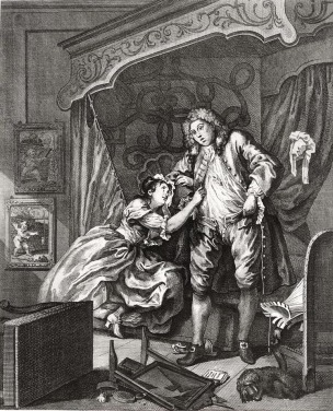 hogarth after 1730-31 gravure