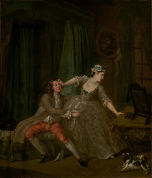 hogarth before 1730-31 Paul Getty Museum