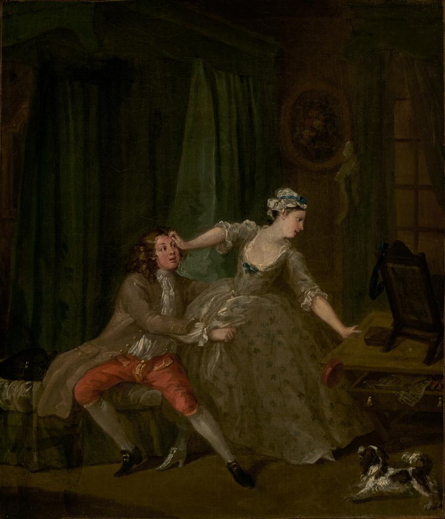 hogarth before 1730-31 Paul Getty Museum