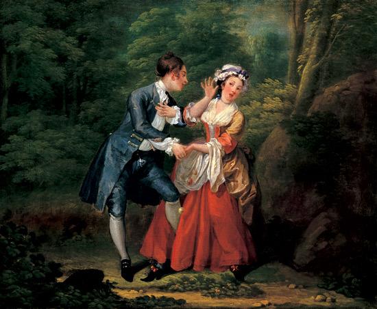 hogarth before 1730-31 Tate Gallery