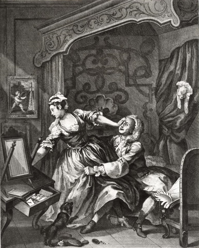 hogarth before 1730-31 gravure