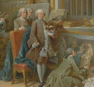 pannini V2a 1758 galerie-de-peinture-avec-vues-de-la-rome-antique-MET New York detail
