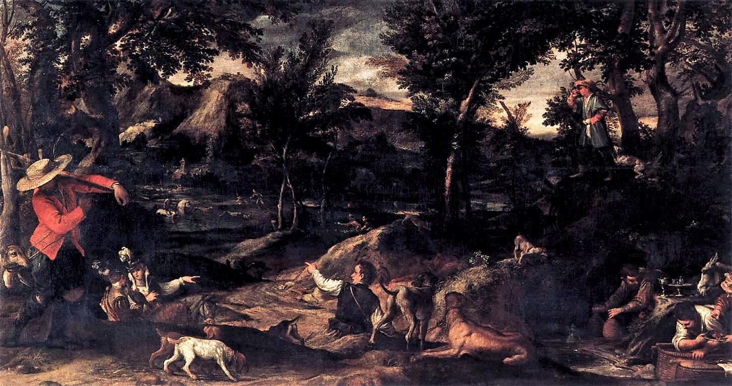 Annibale_Carracci 1585-88 La chasse Louvre