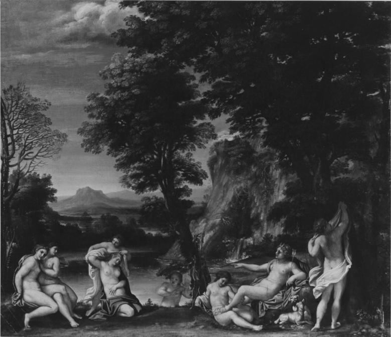 Annibale_Carracci 1605 Landscape-with-Diana and Callisto Mertoun House