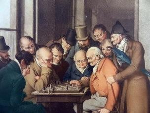 BOILLY 1810 Le jeu des echecs