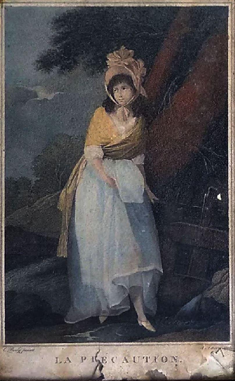 Boilly 1789-93 La precaution gravures de TrescaJ