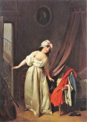 Boilly-1789-95-Il-dort-Le-doux-reveil-Musee-Cognacq-Jay