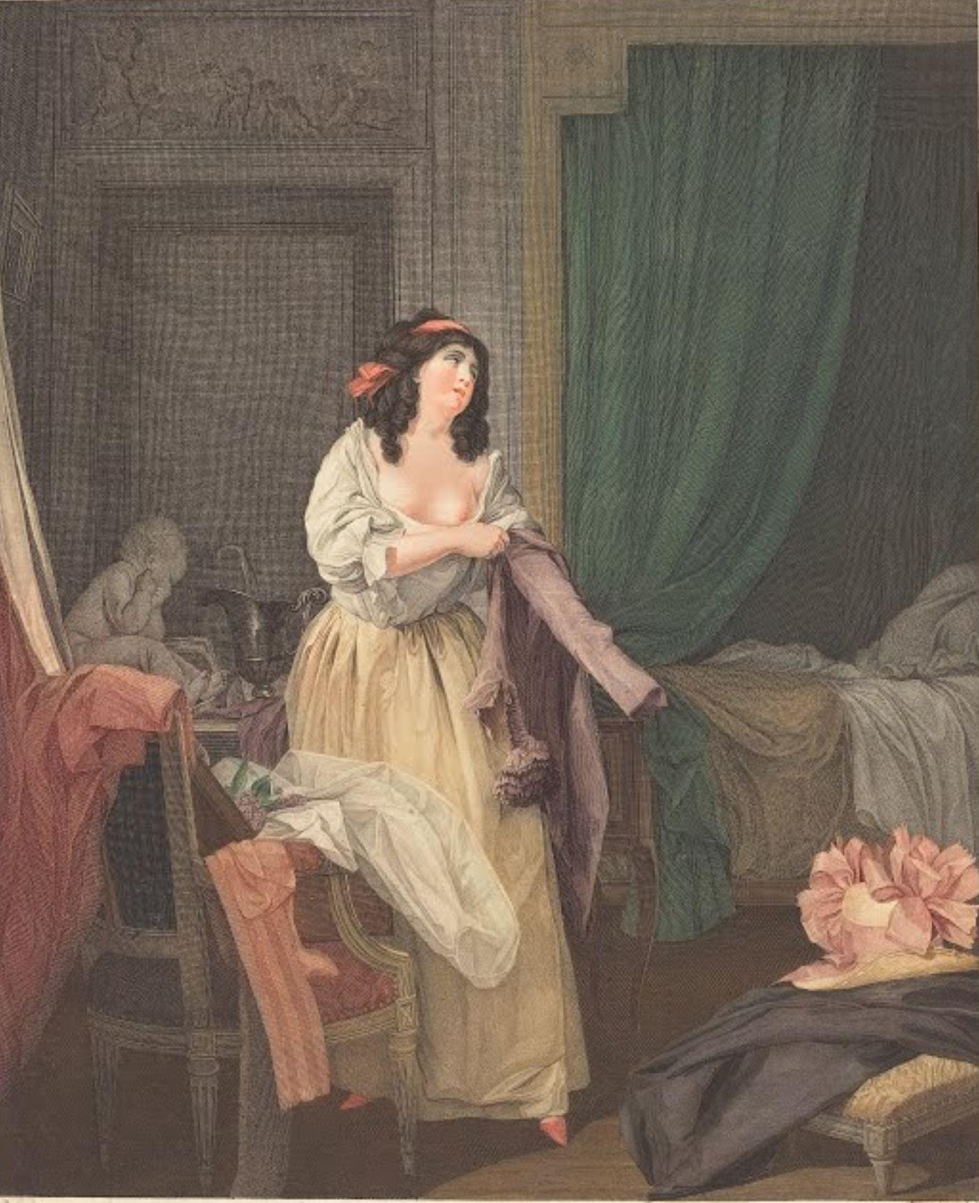 Boilly 1789-95 Que n'y est-il encore gravure de Petit