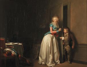 Boilly 1789 La-visite-recue Musee Sandelin Saint Omer