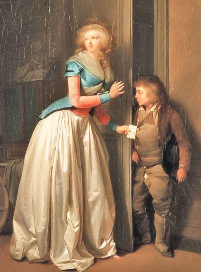 Boilly 1789 La-visite-recue Musee Sandelin Saint Omer eclairci droite