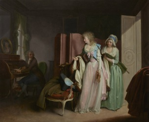 Boilly 1789 La-visite-rendue Wallace Collection inversee