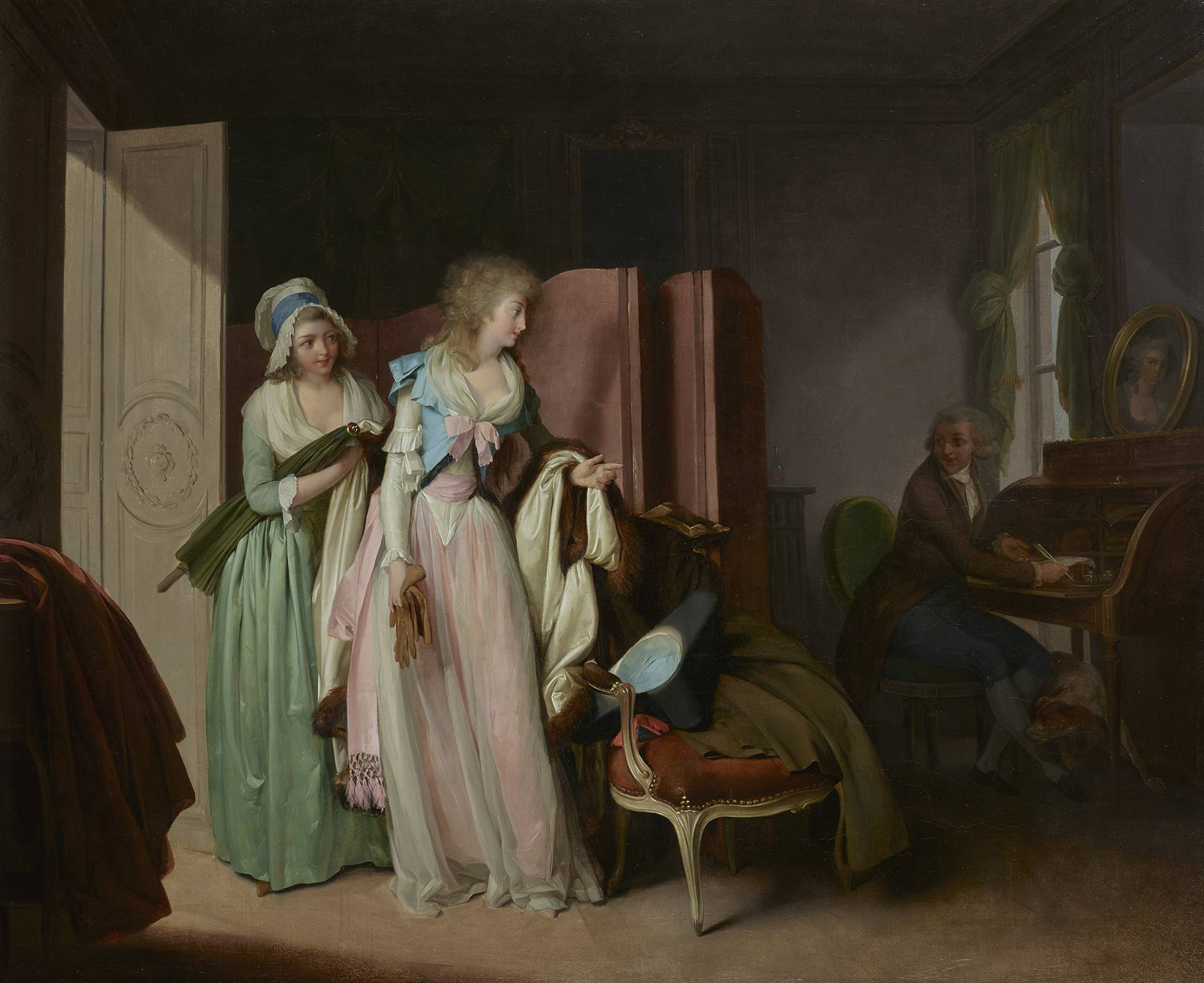 Boilly 1789 La-visite-rendue Wallace Collection