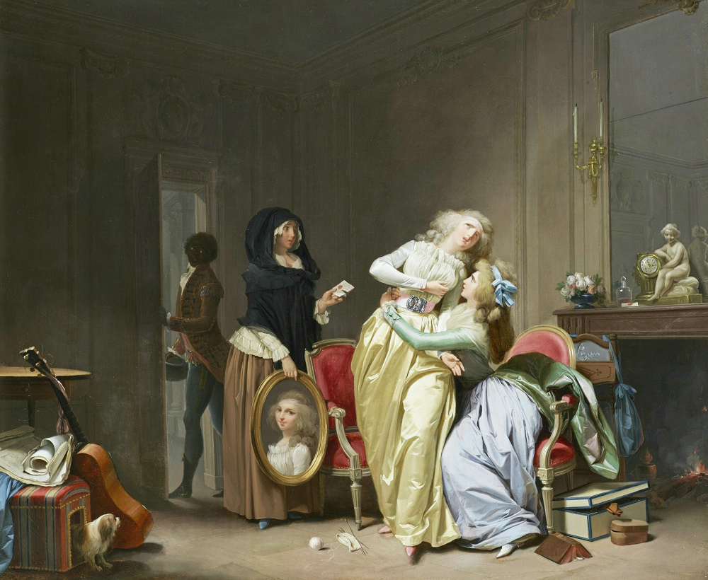Boilly 1790 Les Malheurs de l'Amour,The Wallace Collection Londres,