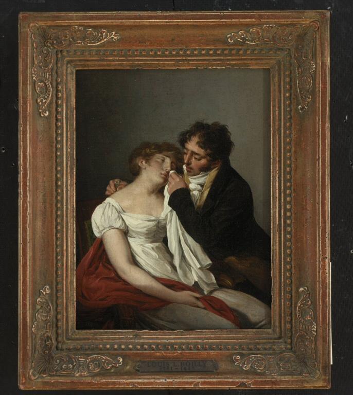 Boilly 1790 ca A1 Le premier mois risdmuseum Rhode island