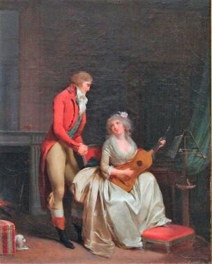 Boilly 1790 ca La douce impression de l'Harmonie coll priv