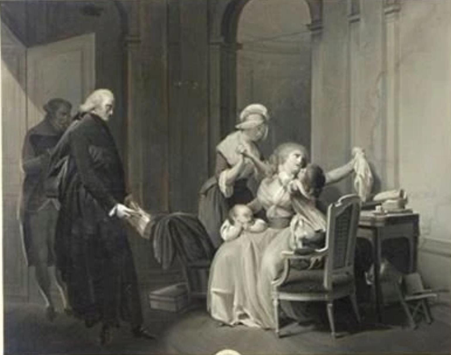 Boilly 1790 ca l'affligeante-nouvelle