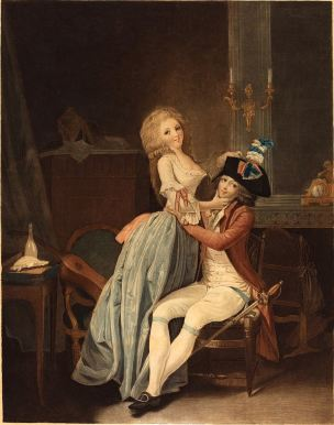 Boilly 1791 ca Ah Qu'il est gentil La cocarde Nationale