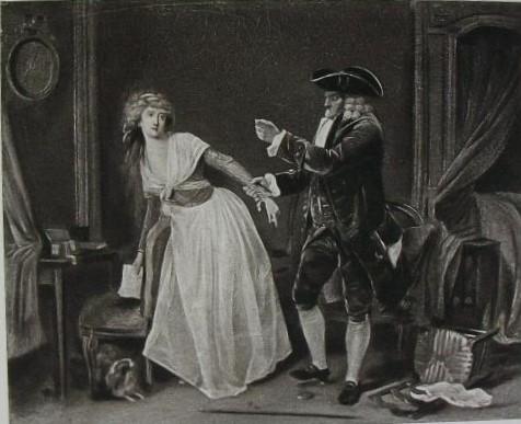 Boilly 1791 ca Le vieux jaloux